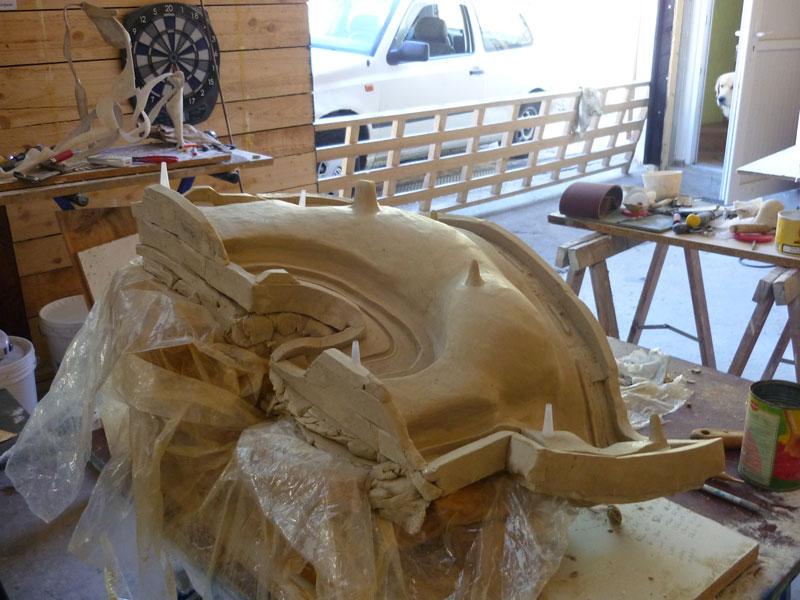 moulage sculpture plastiline. Black Bedroom Furniture Sets. Home Design Ideas