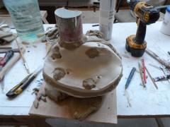 6 coulée sous-chape-deuxième menbrane en élastomère